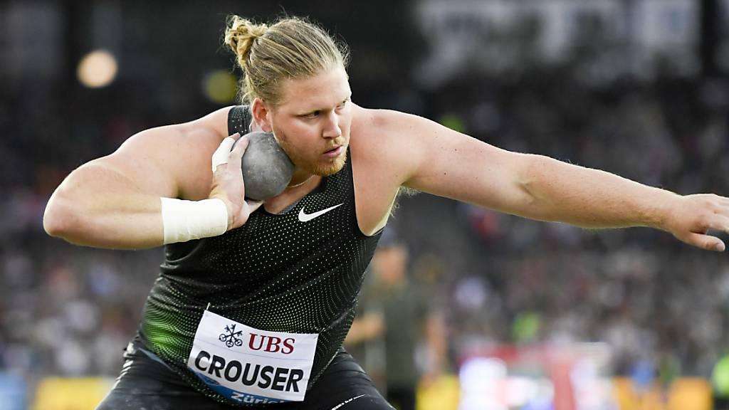 Crouser verpasst Kugelstoss-Weltrekord um 11 Zentimeter