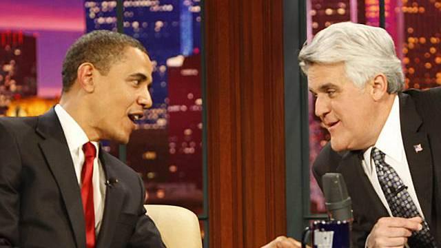 US-Präsident Obama bei Jay Leno