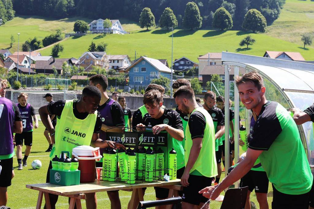 Espen on Tour 2018 (© Facebook/FC St.Gallen 1879)
