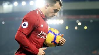 Xherdan Shaqiri zeigte eine starke Leistung - dennoch scheiterte Liverpool im Cup bei den Wolverhampton Wanderers