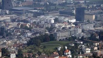 Blick auf die Stadt Zug (Symbolbild)
