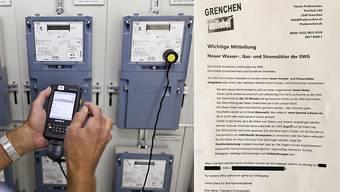 Pro Grenchen warnt in einem Flugblatt vor den intelligenten Stromzählern.