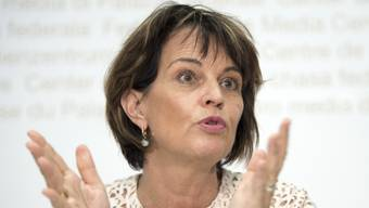 Verkehrsministerin Doris Leuthard.