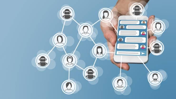 Ausgereiftere Chatbots könnten in den Medien eine durchaus wichtige Rolle einnehmen. (Symbolbild)