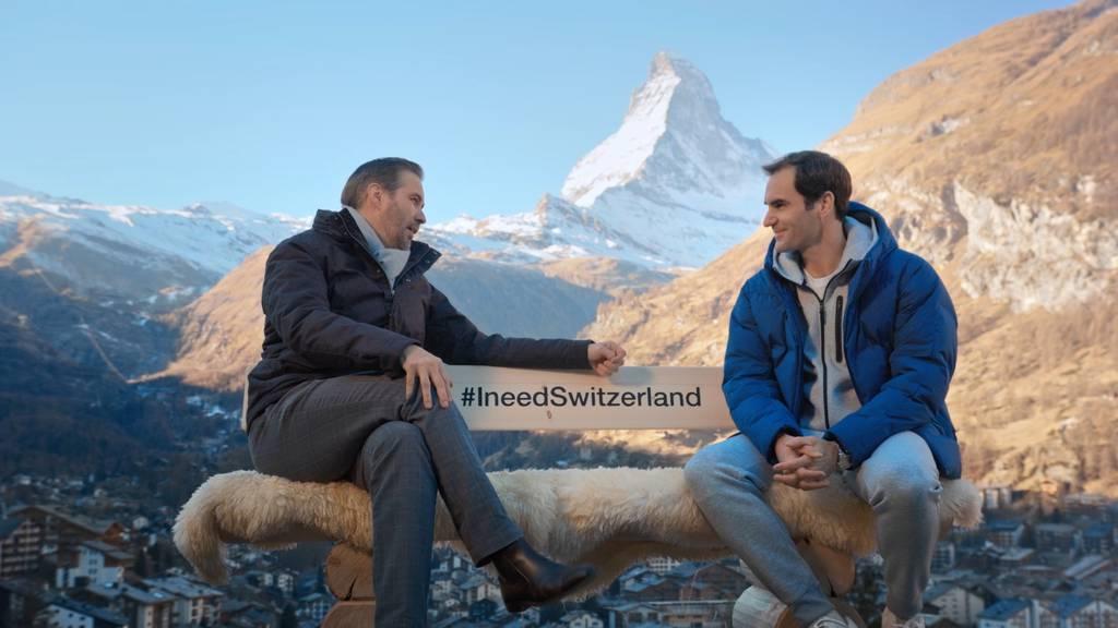 Roger Federer wird Markenbotschafter für die Schweiz - das Geld steckt er in Kinderspielplätze