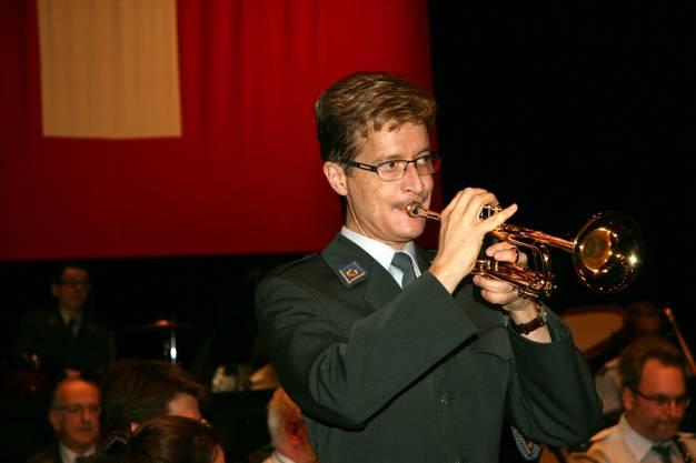 Thomas Räber spielt Trompetenkonzert von Philipp Sparke