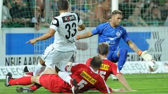 Der FC Aarau besiegt FC Winterthur mit 3:1