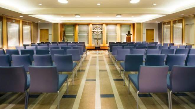 Wie auf dieser Visualisierung des Ideal Org im kanadischen Cambridge könnte es auch bald im Basler Scientologen-Hauptquartier aussehen. Bild: ZVG
