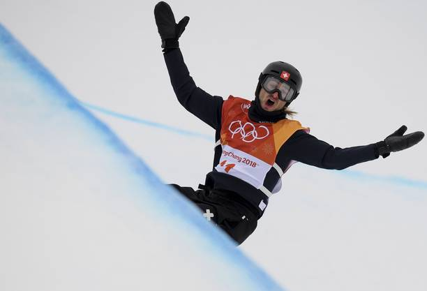 Pat Burgener an den Olympischen Spielen 2018.