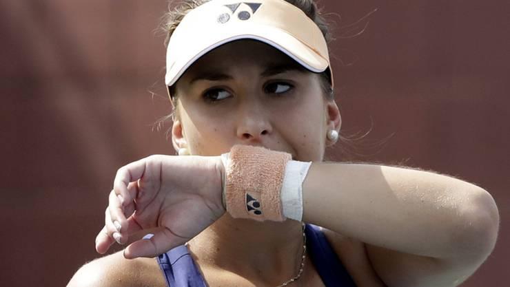 Belinda Bencic muss in Wuhan erneut frühzeitig die Segel streichen
