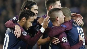 Neymar sorgt mit seinen Sturmkollegen Cavani und Mbappé bei Paris Saint-Germain weiter für Furore