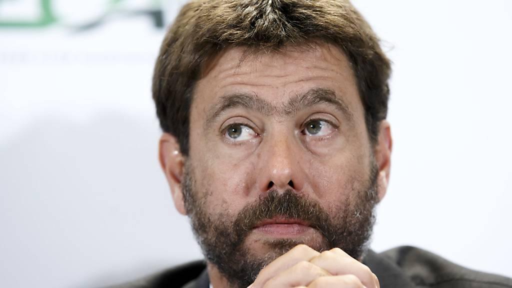 Andrea Agnelli, Präsident der ECA, sieht Europas Fussball durch die Corona-Pandemie bedroht