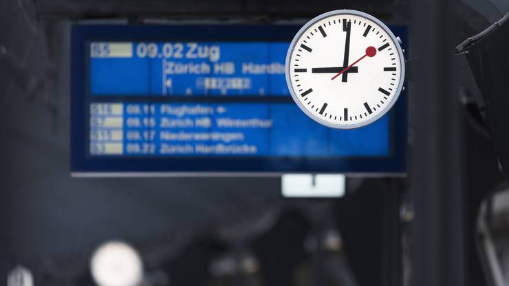 Der Fahrplan ist dicht, das Angebot wächst. Das bringt die SBB an ihre Kapazitätsgrenzen. Bild: Christian Beutler/Keystone