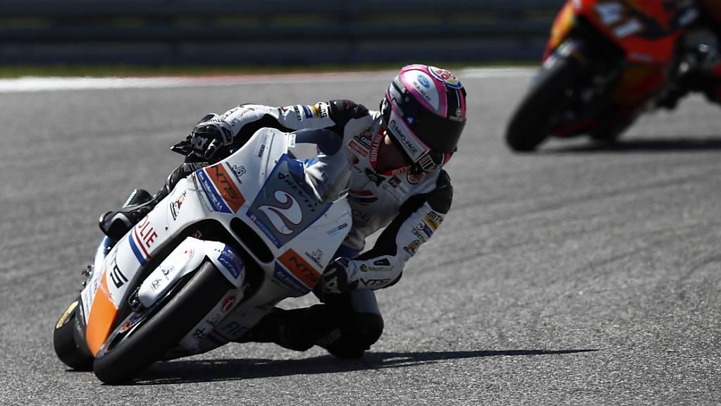 Jesko Raffin bestritt bereits Anfang Jahr drei Moto2-Rennen als Ersatzfahrer, nun darf der Zürcher erneut einspringen