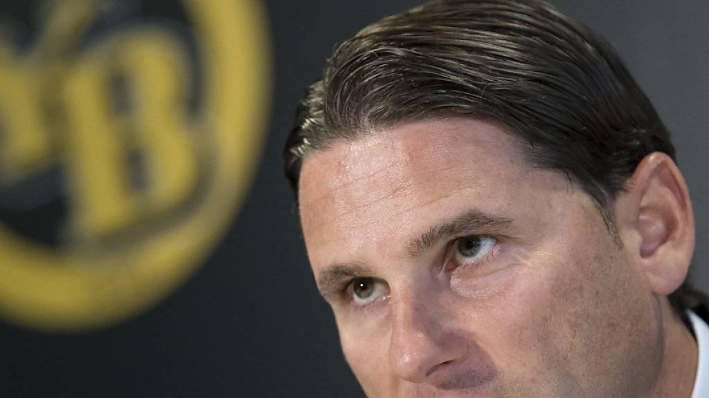 Gerardo Seoane tritt bei den Young Boys die Nachfolge von Meistertrainer Adi Hütter an