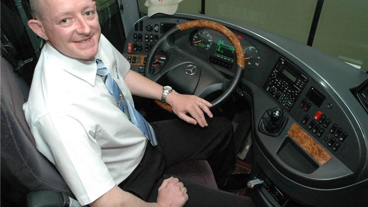 Der Carchauffeur Reto Schärer gründete einen Interessenverband für seinen Berufsstand.