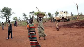 Unruhige Region auch nach dem Waffenruhe-Abkommen: In der Stadt Bria in der Zentralafrikanischen Republik sterben mindestens 40 Menschen bei Kämpfen. (Archivbild)