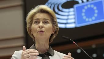 """Ursula von der Leyens """"Green Deal"""": Die EU-Kommissionspräsidentin hat am Mittwoch im EU-Parlament in Brüssel ihr ambitioniertes Klimapaket vorgestellt."""