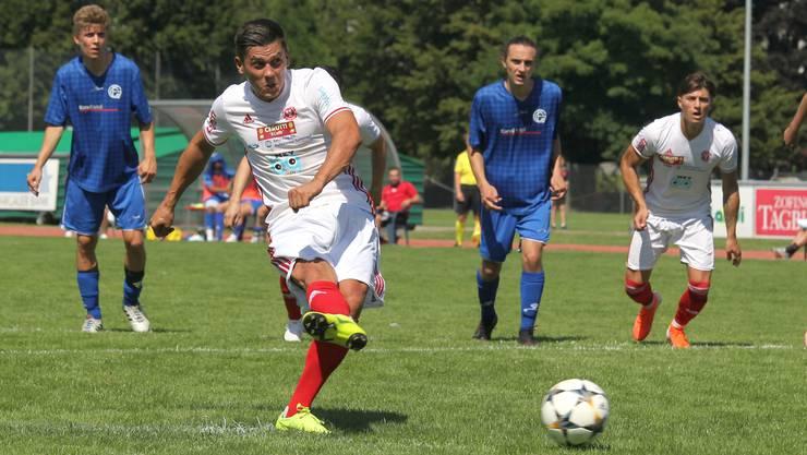 Avni Halimi erzielt für den SC Zofingen 17 Tore und ist damit Topskorer der 2. Liga inter Gruppe 5