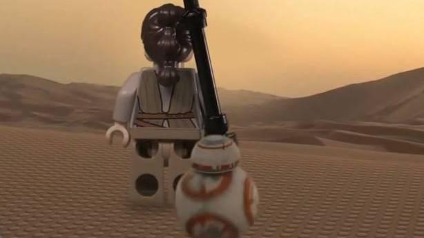 Geniale Star Wars Adaption von Lego.