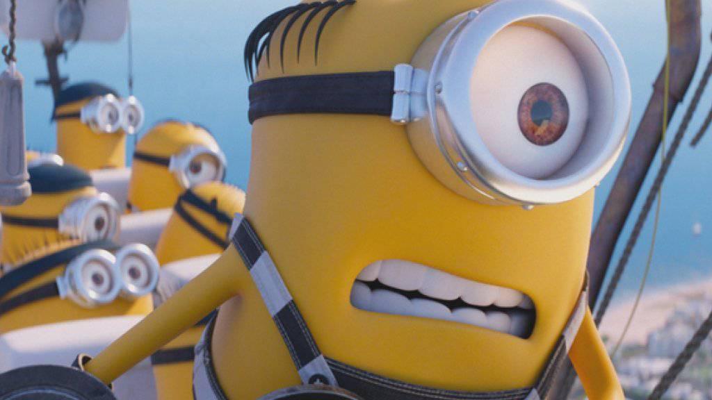 """""""Despicable Me 3"""" hat am Wochenende vom 29. Juni bis 2. Juli 2017 bei den US-Kinocharts den ersten Platz geholt. (Archiv)"""