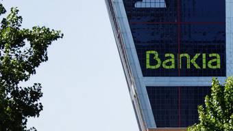 Blick auf das Hauptquartier der Bankia in Madrid (Archiv)