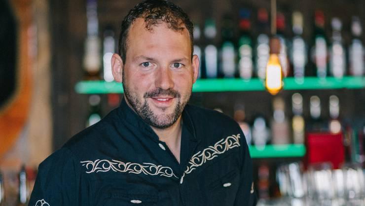 Martin Blum, der neue Geschäftsführer des Restaurants El Mosquito.