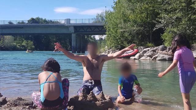 Verwandte suchen an Aare nach Vermisstem