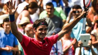 Federer holt sich 7. Turniersieg in Cincinnati