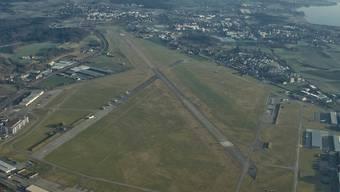 Einschnitt in die Boomregion Glattal: Flugplatz Dübendorf. Keystone