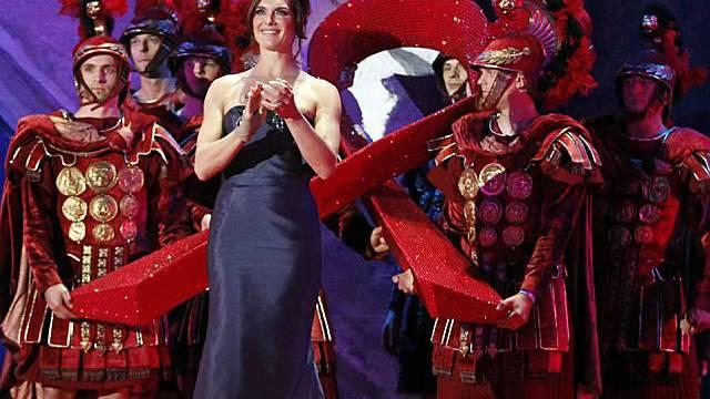 Brooke Shields bei der Eröffnung des 19. Life Ball