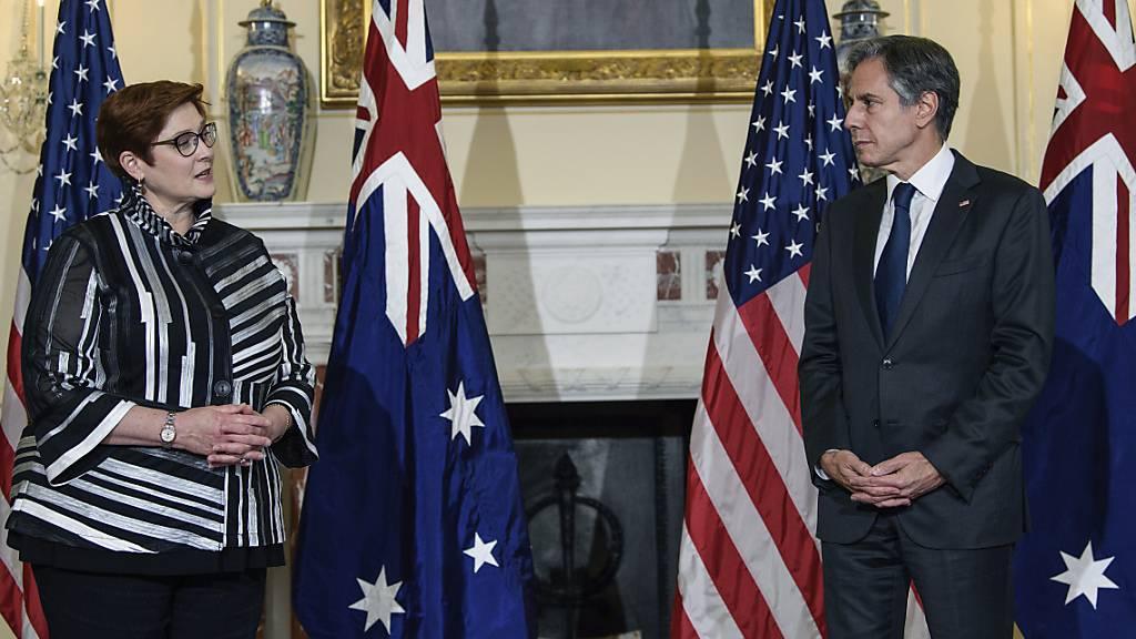Indopazifik: USA wollen Australien Atom-U-Boote ermöglichen