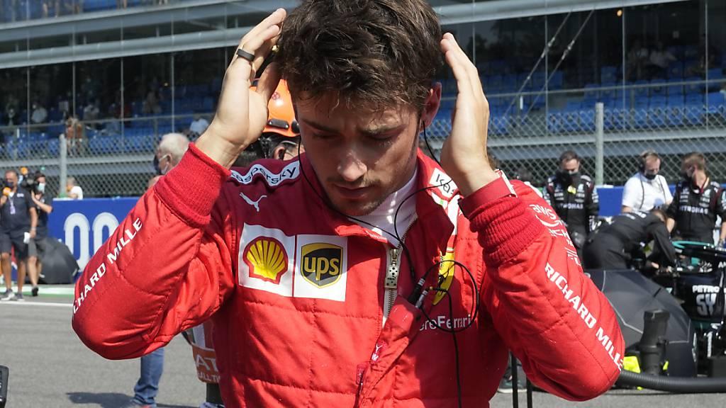 Mehr PS, schlechterer Startplatz: Charles Leclerc vor dem Grand Prix in Sotschi
