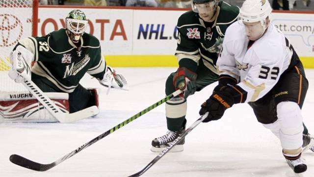 Die Anaheim Ducks mussten sich in der NHL zum dritten Mal in Folge geschlagen geben