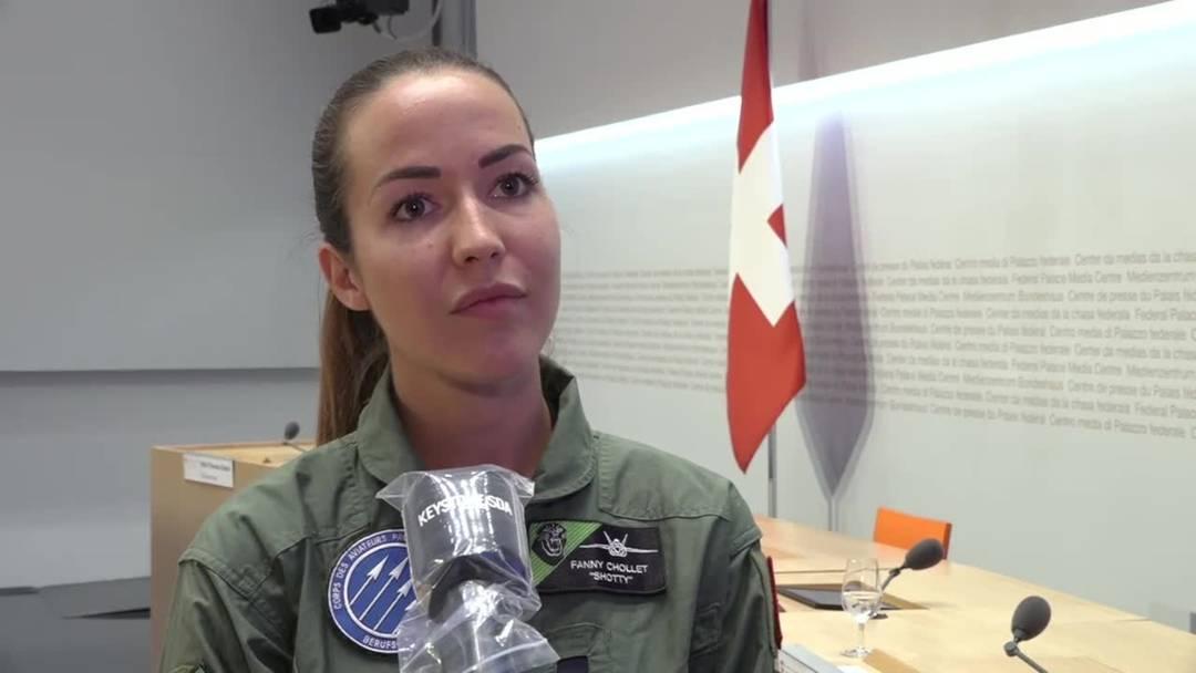 Neue Kampfjets für Verteidigungsministerin Amherd unverzichtbar