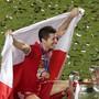 Auf dem Olymp: Mit Bayern München gewann Robert Lewandowski die Champions League und ist nun Favorit auf den Titel des Weltfussballers des Jahres