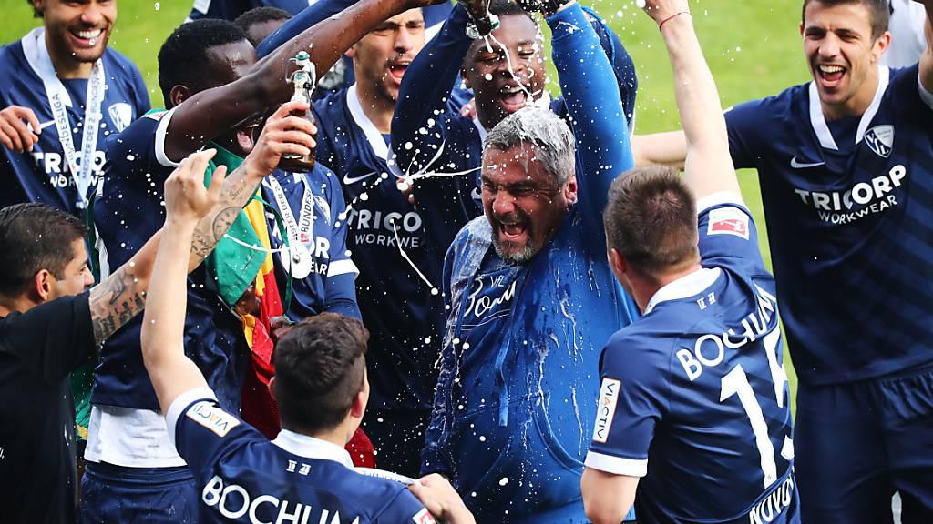 Aufstiegsjubel: Am Pfingstsonntag machte der VfL Bochum nach elf Jahren die Rückkehr in die Bundesliga klar