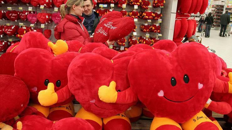 Lass uns knuddeln! Valentinstag in Polen.