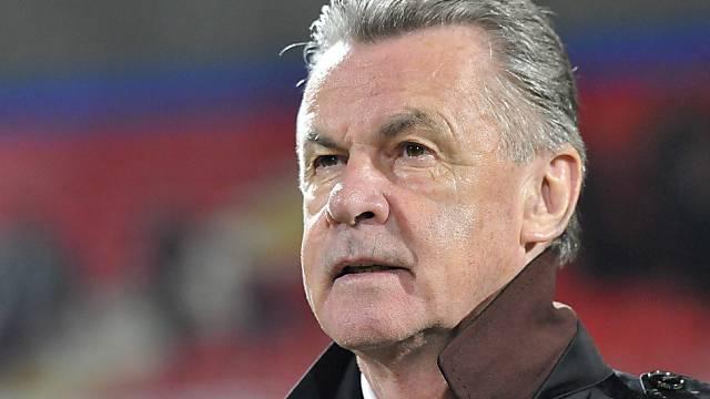 Bleibt bis zur WM 2014 Schweizer Nationalcoach: Ottmar Hitzfeld