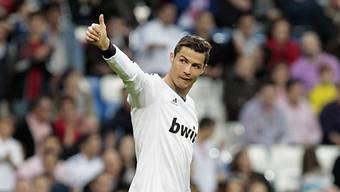 Cristiano Ronaldo traf gegen Valladolid zweimal