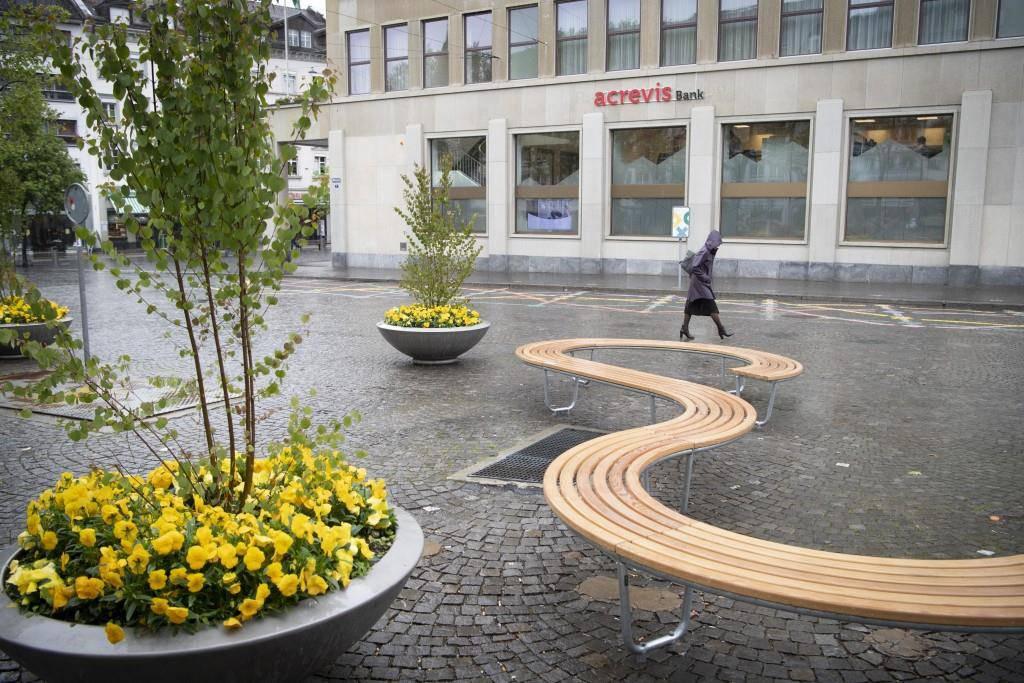 Umgestalteter Marktplatz St.Gallen (© St.Galler Tagblatt/Ralph Ribi)