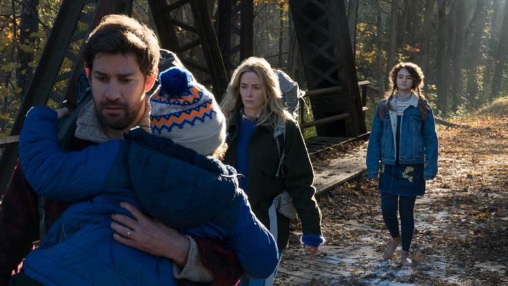 """""""A Quiet Place"""" ist gleichermassen Horrorthriller und Familiendrama."""