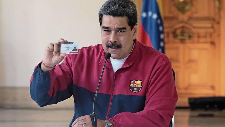 Die Coronakrise und die USA könnten sein politisches Ende bedeuten: Nicolas Maduro.