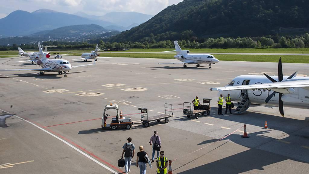 Luganeser Gemeinderat rettet vorerst den Flughafen Lugano-Agno