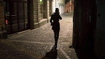 Die Angst vor dem Stalker läuft mit. Bild: Michel Canonica
