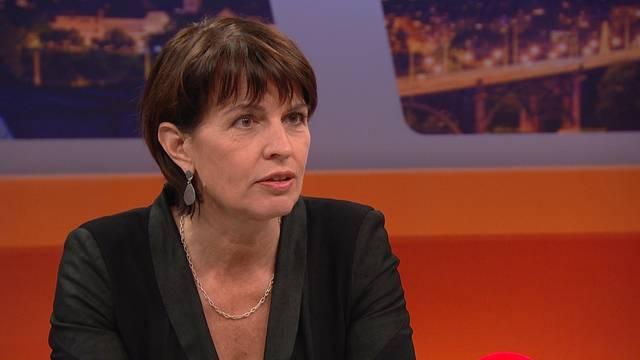 Das sagt Doris Leuthard in der Sendung «TalkTäglich» auf Tele Züri zum Postauto-Skandal.