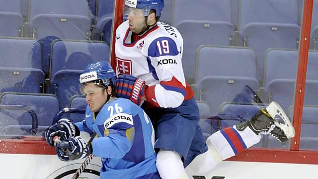 Die Slowakei setzt sich gegen Kasachstan durch.