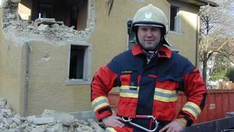 Der Wohler Feuerwehrkommandant Marcel Christen und sein Korps müssen wohl noch länger auf den neuen Mannschaftstransporter warten.