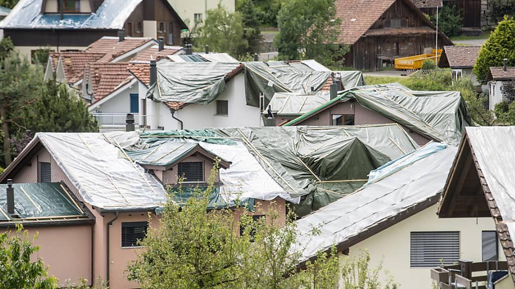 Luzern fördert nach Hagelschäden Isolation von Häusern