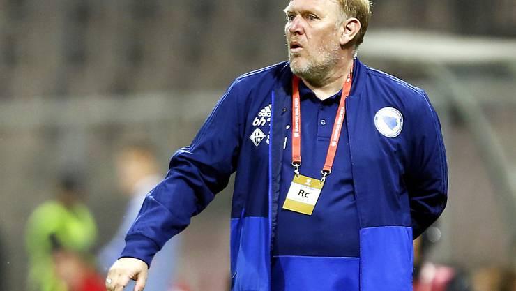 Der frühere Top-Spielmacher Robert Prosinecki bleibt nun doch Nationaltrainer von Bosnien-Herzegowina